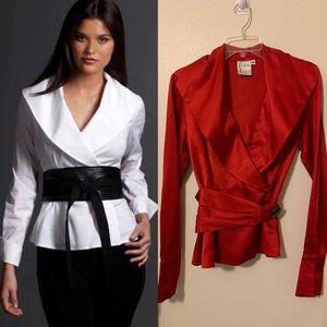 Finley iconic Diva shirt in RED M